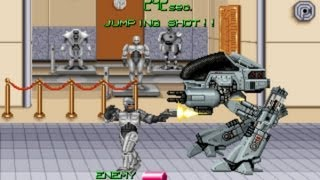 Robocop 2 Arcade Gameplay Playthrough longplay