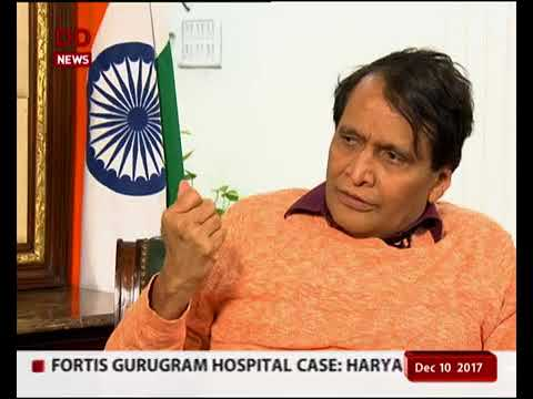 Candid Conversation with Union Minister of Commerce & Industry Shri Suresh Prabhu