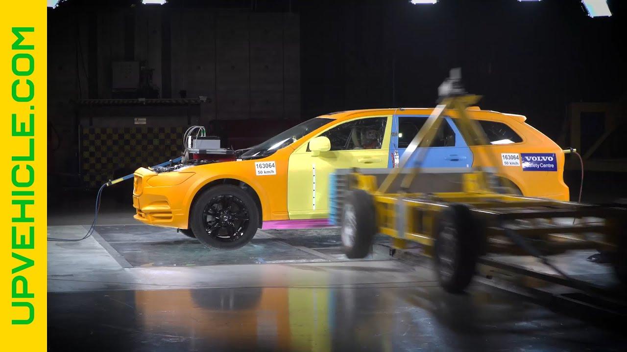 Thử nghiệm an toàn - Volvo V90 Crash Test
