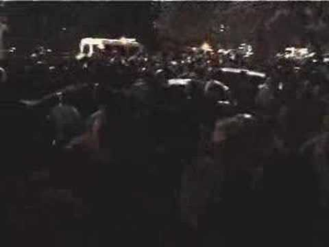 Police Attacking Armenia Opposition Protesters