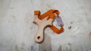 Slingshot made out of plywood
