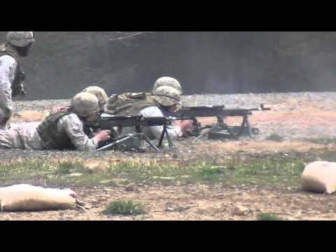 Marine Corps WOBC 1-12 MG FEX