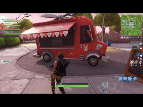 Fortnite New Food Truck Easter Egg - YouTube