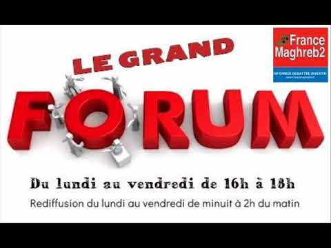 France Maghreb 2 - Le Grand Forum le 11/04/18 : Fatima Ouassak et Nadir Kahia