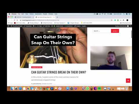 Can Guitar Strings Break On Their Own?