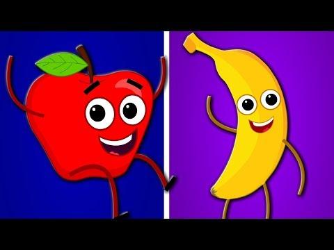 Apple And Bananas Song | Kindergarten Nursery Rhyme  | Songs for Babies | Toddlers Videos by Kids Tv