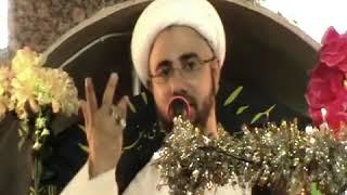 الشيخ مصطفى الموسى - فاطمة الزهراء ع تطالب يوم القيامة بكفي أبي الفضل لعباس عليه السلام