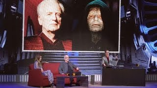 2015 IAN MCDIARMID Emperor Palpatine Interview - STARS OF THE SAGA - Star Wars Weekends