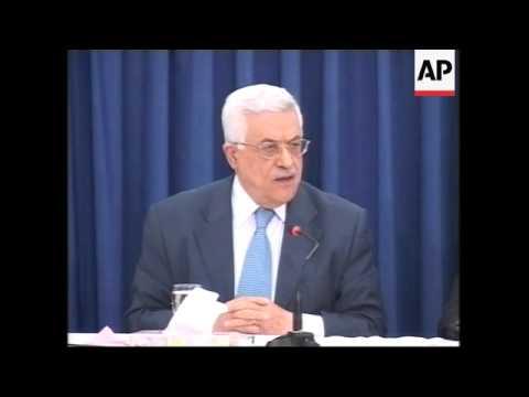 """Abbas to call early elections, denounces Hamas """"lies"""""""