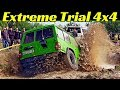 Extreme Trial 4x4 Off-Road Parkour - Climbing, Dust, Mud & Water Moat! - San Biagio Motor Pork 2019