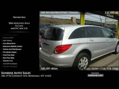 Used 2006 Mercedes-Benz R-Class | Sunrise Auto Sales, Rosedale, NY