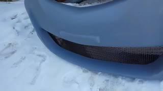 видео Бампер AutoExe Mazda 3 Hatchback / Мазда 3 Хэтчбек
