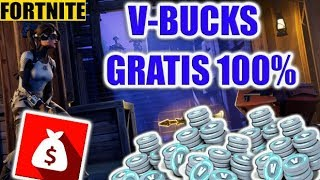 V-BUCKS GRATIS AL 100%-FORTNITE