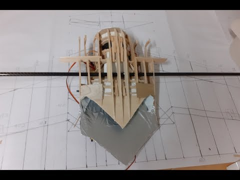 Balsa Wood Flying Wing Build Part 2: The Core