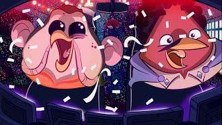 Angry Birds Star Wars Злые Птички прохождение игры Серия 17
