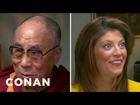 The Dalai Lama Reveals His Fun Side