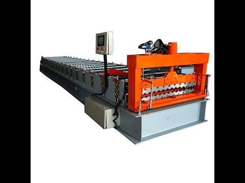 corrugated sheet roll forming machine for roof