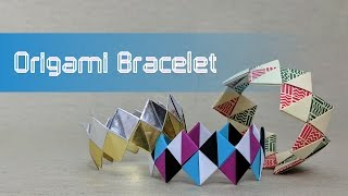 Origami Valentine's Day Tutorial: Friendship Bracelet (traditional design)