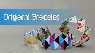 Origami Valentine's Day Tutorial: Friendship Bracelet (traditional design)