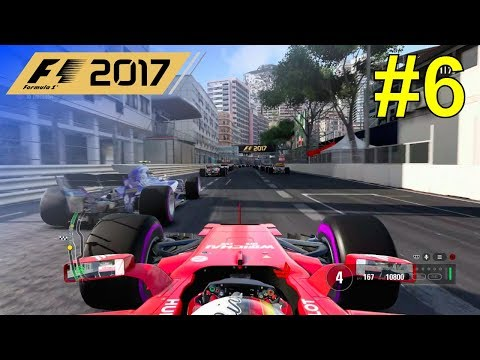 F1 2017 - Let's Make Vettel World Champion Again #6 - 100% Race Monaco