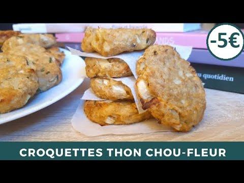 croquettes-de-choux-fleurs-au-thon-|cuisson-au-four-|-recette-simple-et-rapide