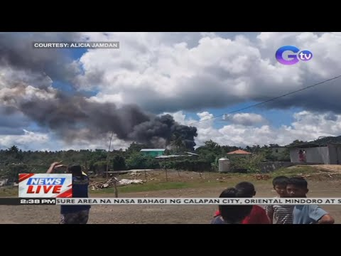 Philippine Air Force C-130 plane crashes in Sulu   News Live