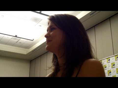 Sarah Lancaster talks about the upcoming season of CHUCK on NBC at San Diego ComicCon 2009