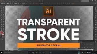 Transparent Stroke   Adobe Illustrator Tutorial