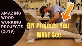 Woodworking Ideas (2019) : 3 Amazing WoodWorking Ideas You can try at home �