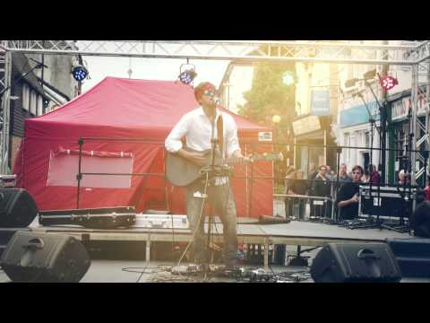 Oliver Sean Live at the Fisherton Festival, Salisbury UK