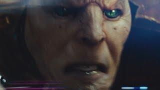 Контакт с пришельцем - момент из фильма Морской Бой