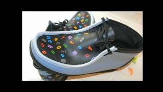 "Custom Sneakers - Customized Clarks Wallabes - Vasyl Linde-Krychevsky Jr ""MILK"""