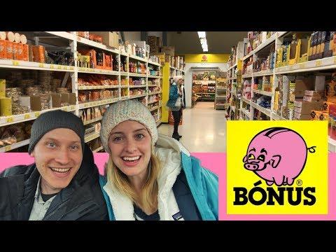 SHOPPING AT BONUS | Egilsstaðir, Iceland