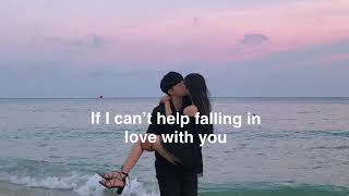 Cover images Kina Grannis - Can't Help Falling In Love (Lyrics) 🥀