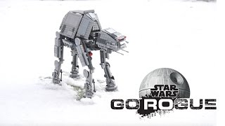 figcaption LEGO STAR WARS AT-AT in the snow #스타워즈UCC챌린지