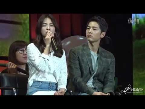 FANCAM - 160617 Song Joong Ki & Song Hye Kyo @ FM in Chengdu