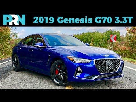 2019 Genesis G70 3.3T Sport AWD TestDrive Spotlight