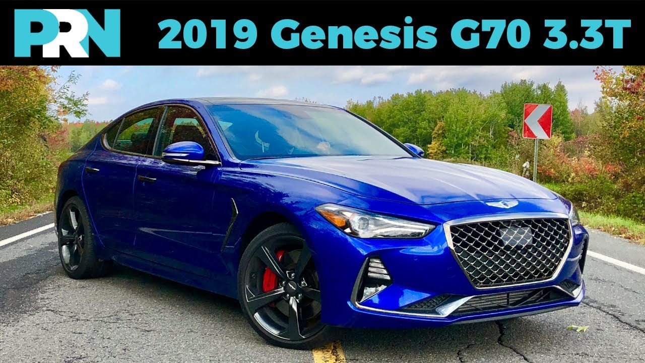 2019 genesis g70 3 3t sport awd testdrive spotlight