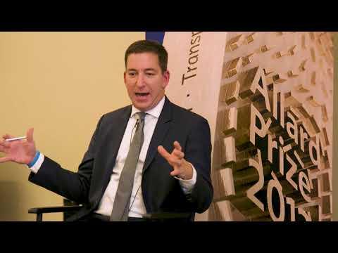 2017 Allard Prize: Glenn Greenwald Q&A