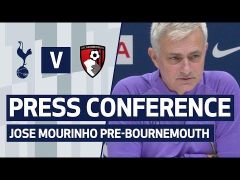 PRESS CONFERENCE   JOSE MOURINHO PREVIEWS AFC BOURNEMOUTH