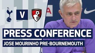 PRESS CONFERENCE | JOSE MOURINHO PREVIEWS AFC BOURNEMOUTH