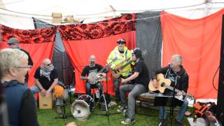 Blind Fever play Omm-Pah-Pah at Gails Tea Tent Bearded Theory 2014