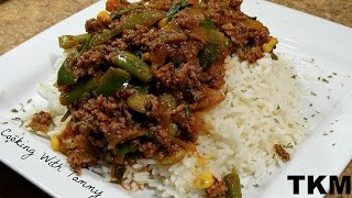 Gambar cover Ground Beef And Veggies Over Rice