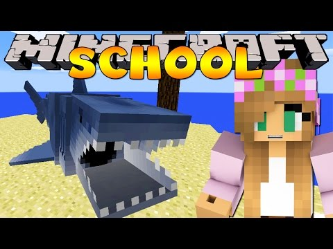 Minecraft School : JAWS - SHARK FIELD TRIP!