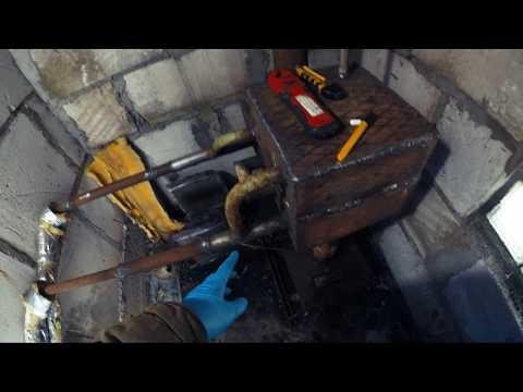 Водяное отопление гаража. Изменяем систему нагрева воды в печке.