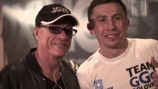 Gennady GGG Golovkin vs. Dominic Wade, TKO Fight & Backstage, THE FORUM
