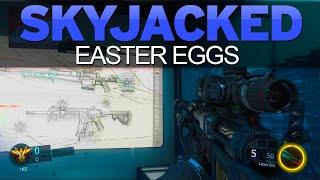 Black Ops 3 - SKYJACKED EASTER EGGS - Illuminati, Morse Code & More (BO3 Awakening Easter Eggs)