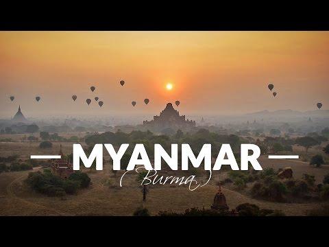 Myanmar (Burma) - Awesome Backpacking Trip / GoPro