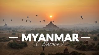 Myanmar (Burma) - Awesome Backpacking Trip / GoPro