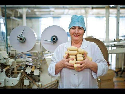 Как делают хозяйственное мыло на производстве видео
